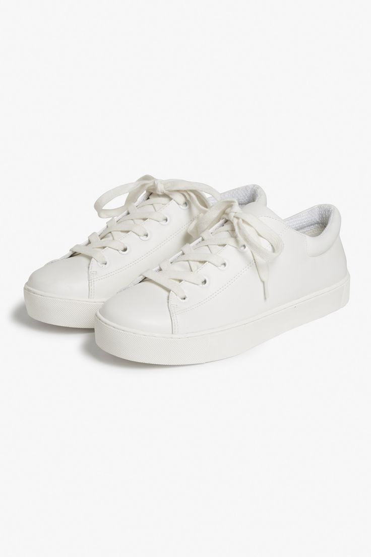 Lace-up sneakers in quality faux leather—easy to wear, easy to love everyday style.