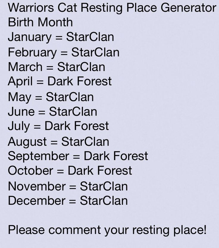 NOOOO I'm in the Dark Forest! Comment yours!