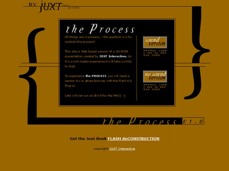 Juxt Interactive website in 2002