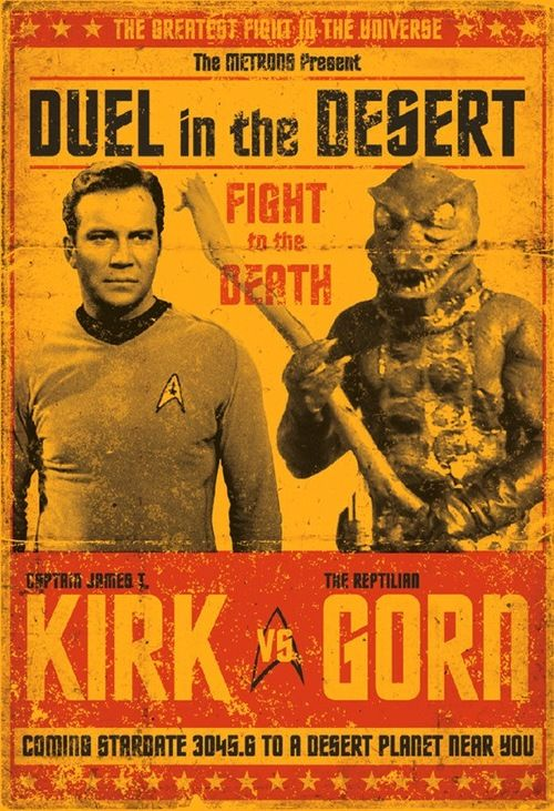 Kirk vs. the Gorn  Remember this episode alex?