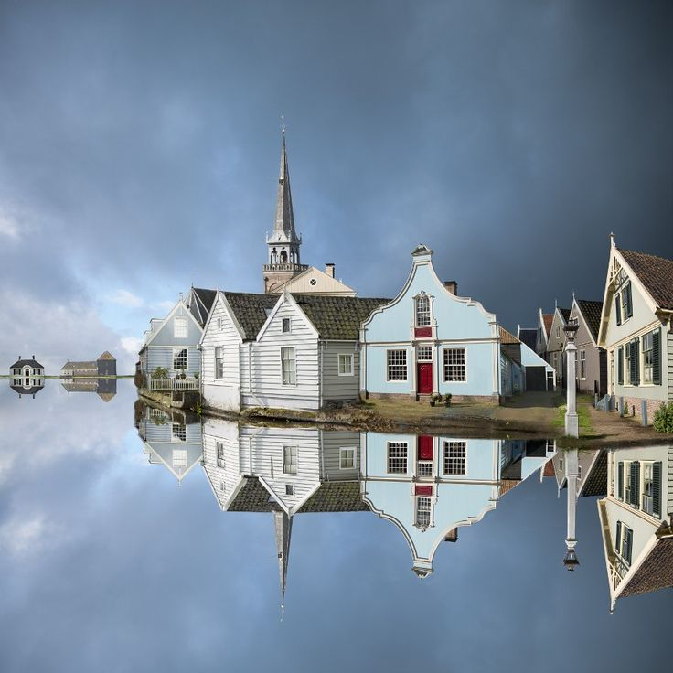 ♥ Broek in Waterland, the Netherlands.