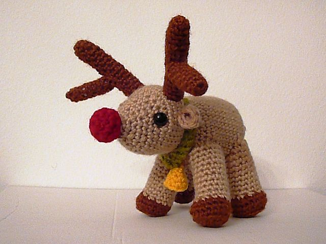 Amigurumi Reindeer Pattern : 17 Best images about Crochet Reindeer on Pinterest ...