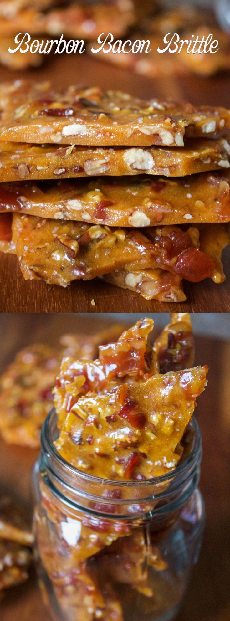 Bourbon Bacon Brittle
