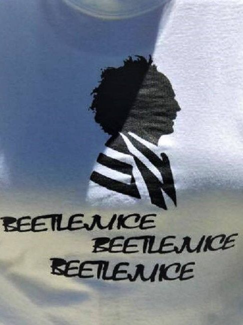 A personal favorite from my Etsy shop https://www.etsy.com/listing/519480624/beetlejuice-print-on-white-t-shirt-small