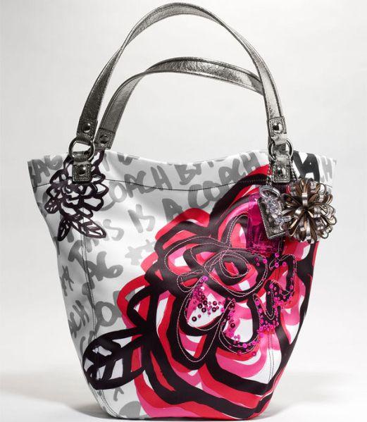 Pink flower coach purse cute little girl purses pink flower coach purse mightylinksfo