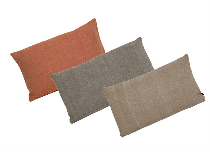 Rectangular Cushions (Orange, Charcoal & Navy Colours)