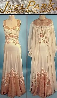 1950 Juel Park, Beverly Hills   Trousseaux Gown and Robe