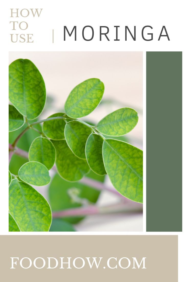 Comment Consommer Le Moringa : comment, consommer, moringa, Natural, Health