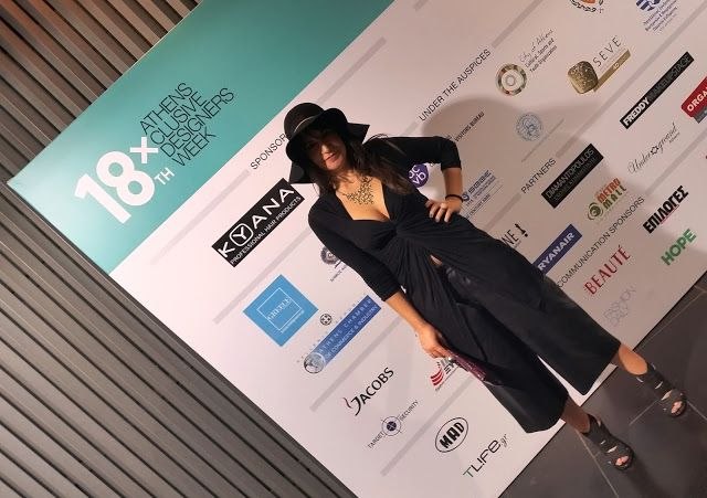 ASfashionlovers: 1st outfit Athens Xclusive Designers Week