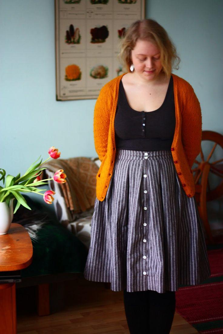 Viffla: Ett styck randig kjol, tack!