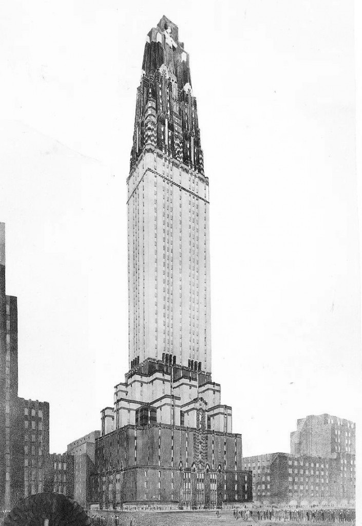 This Proposed Building Was Entitled The Fashion And To Be Built On