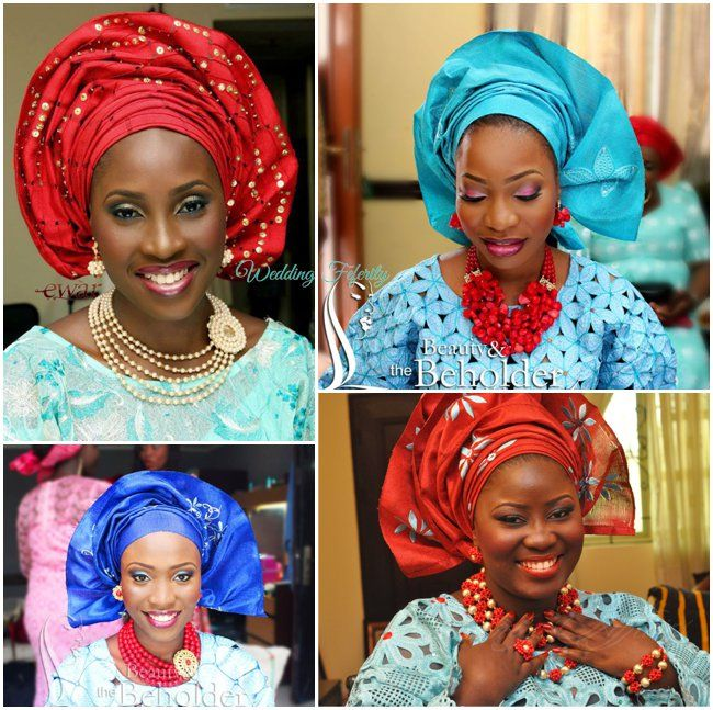 Nigerian Traditional Yoruba Wedding: My Fav Yoruba Wedding Traditional Attire Combo Ever