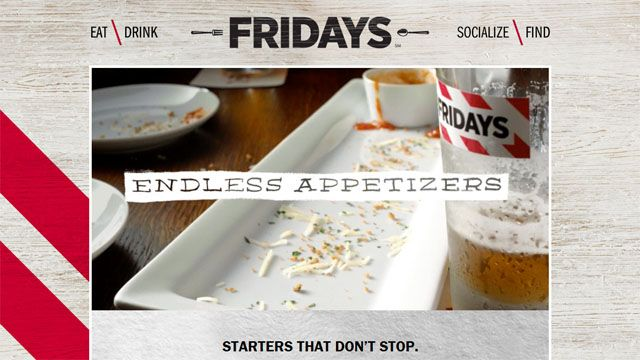 TGI Fridays offers endless appetizers for $10 | National News  - WBAL Home