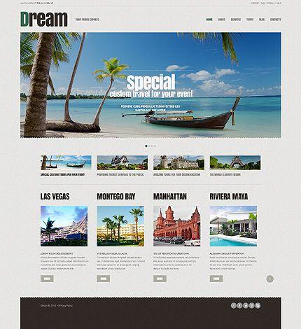 The 277 best Website Templates images on Pinterest Wordpress - interactive website template