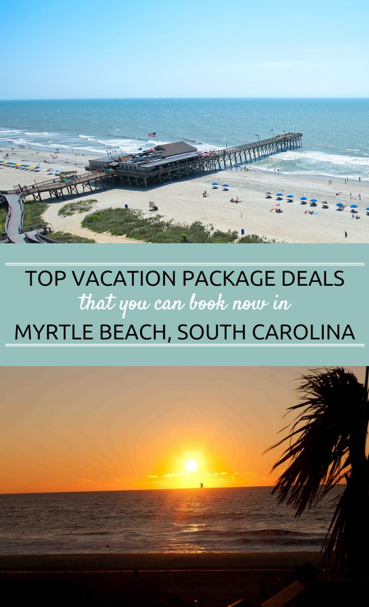 You can book a vacation deal now in Myrtle Beach and save on your oceanfront vacation!  There are so many things to do and so many places to stay along our 60 miles of sunny beaches, so book your trip and experience the beautiful Myrtle Beach area for yourself!