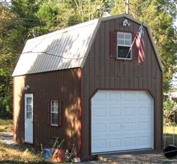 $11,00 w delivery to Spotsy, can chge colors,etc.Wood Amish Built 2 Story Garage For Sale in Virginia and West Virginia