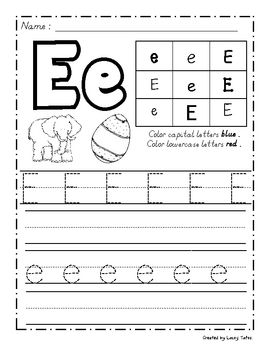 ... on pinterest block fonts : Handwriting Worksheets For Letter E