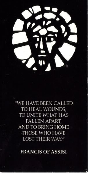 We have been called...