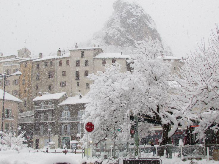 La Pignolette sous la neige