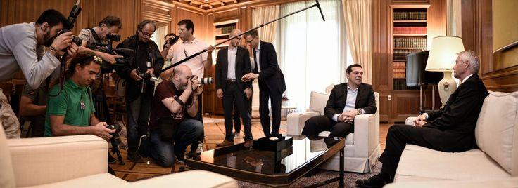 Secretary General meets Greek PM Tsipras.  More information - http://www.coe.int/en/web/portal/-/secretary-general-jagland-meets-greek-pm-tsipras