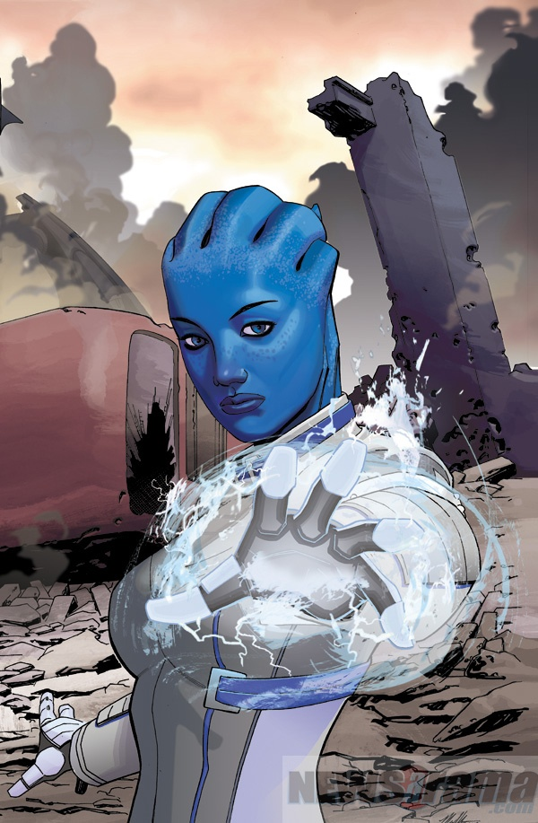 MASS EFFECT: HOMEWORLDS #4 Ft. Liara