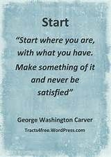 George Washington Carver Quotes - - Yahoo Image Search Results