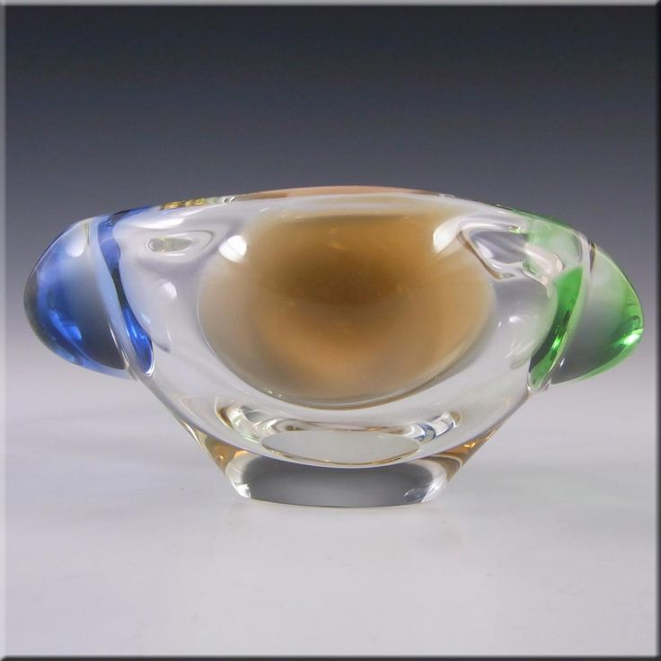 Mstisov Czech Glass Rhapsody Bowl by Frantisek Zemek - £19.99