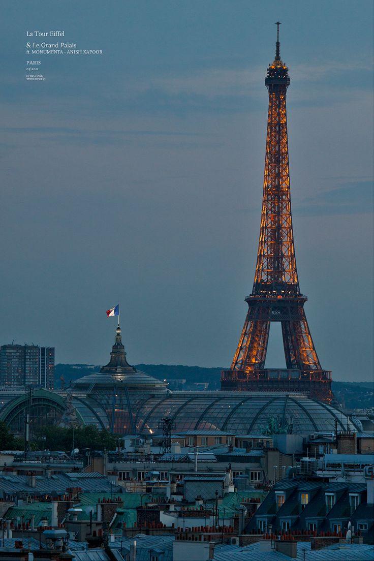 Photographie des toits de Paris par Michael LEVY