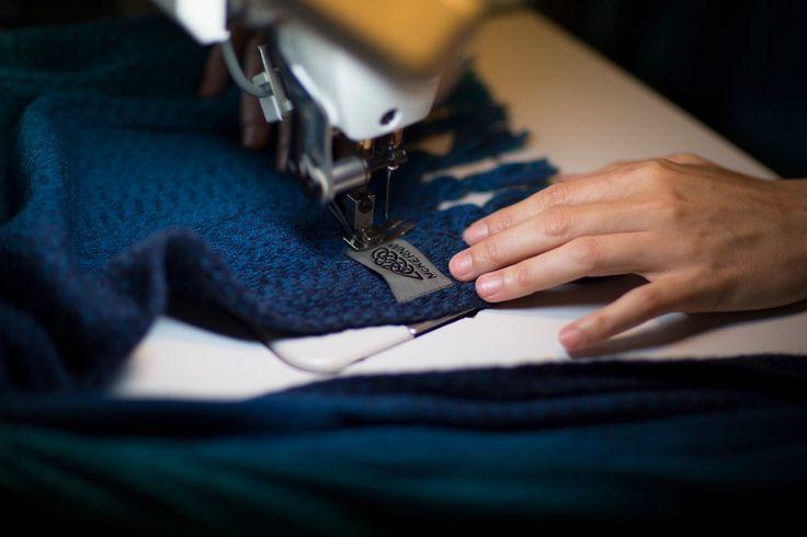 Labels | McKernan Woollen Mills | Handmade scarves made in Ireland | Irish Design | Accessories