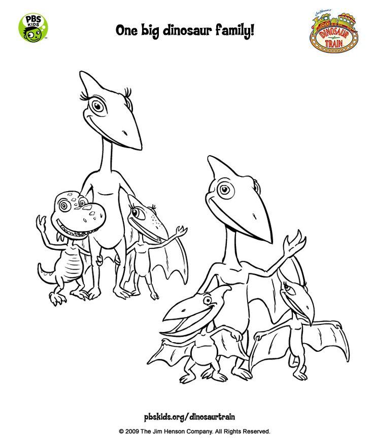 18 best dinosaur train images on Pinterest   Coloring books ...