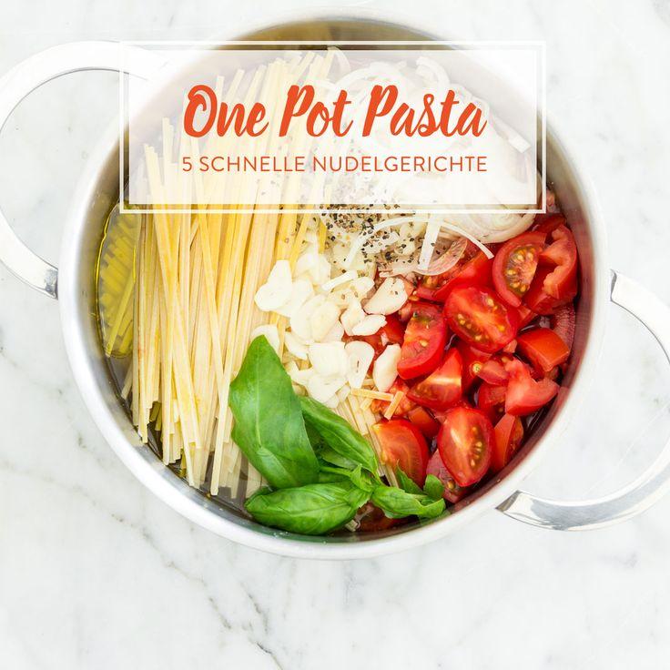 ber ideen zu pasta in einem topf auf pinterest pasta spaghetti und rezept. Black Bedroom Furniture Sets. Home Design Ideas