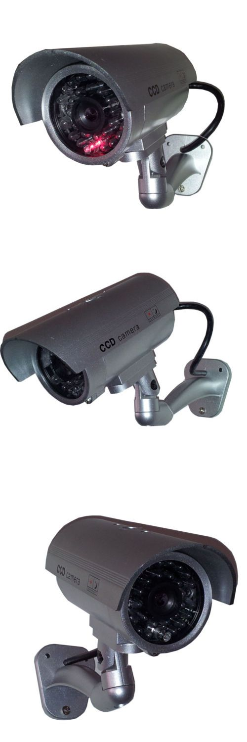 Dummy Cameras: 12 Outdoor Dummy Security Camera Fake Flashing Infrared Bullet Cctv Surveillance -> BUY IT NOW ONLY: $53.99 on eBay!