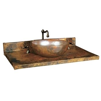 Tempered Copper--The Latest Trends in Bathroom Sinks