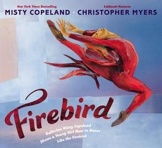 This book breaks the mold of traditional ballet, and focuses on the athleticism and training of champion dancers.  Firebird by Misty Copeland, Illustrations by Christopher Myers
