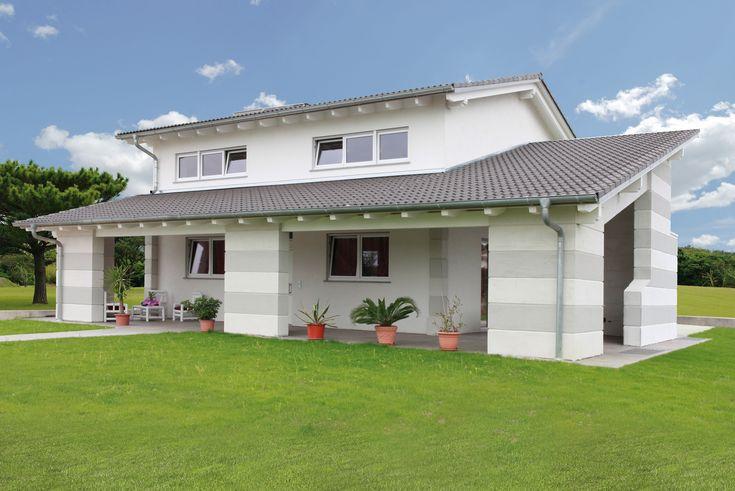 Linea classica case prefabbricate spazio positivo - Case moderne in legno ...