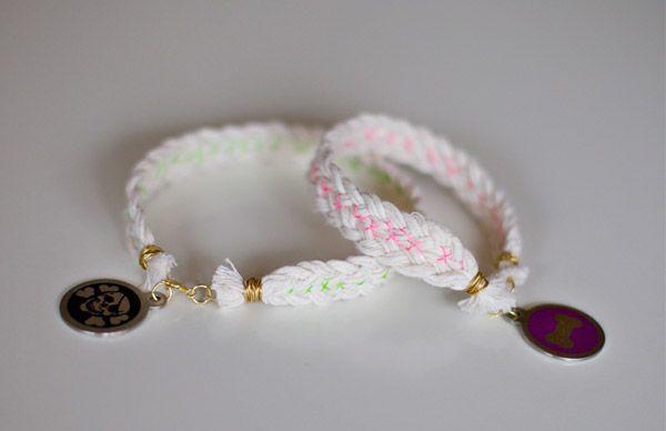 LOVEMEBRIGHT: DIY // braided dog collars