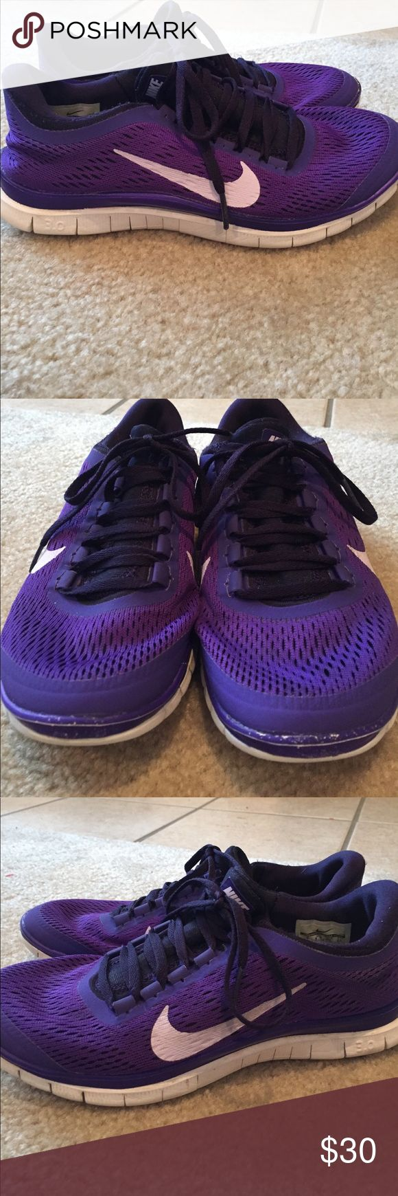 Nike Free 3.0 size 8 Nike Free 3.0 size 8. Good condition Nike Shoes Sneakers