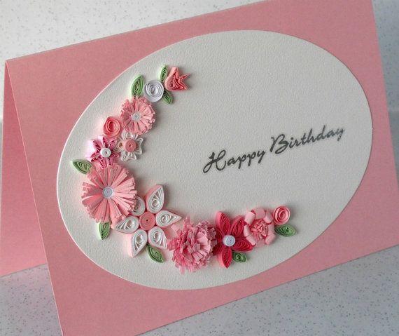 Розы из гофрированной бумаги своими руками для открытки с днем рождения