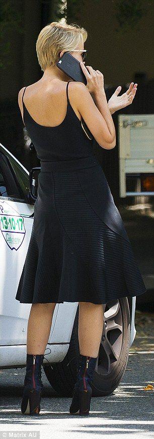 Lara Bingle - In Sydney.  (23 November 2015)