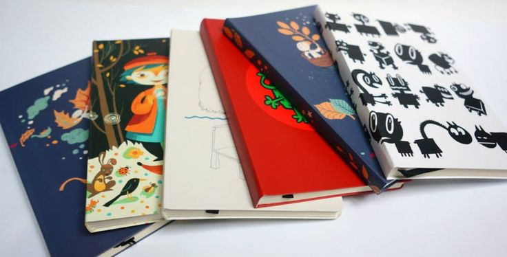 ROD notebooks illustrated by Maria Surducan, Alexandru Ciubotariu (aka Pisica Patrata) & Vali Petridean.