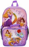 Disney Princess Backpack with Lunch Kit