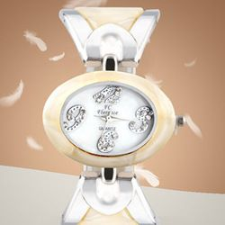 Ladies Fashion Watch Quartz Watch Ai From France, Korean Trendy Women