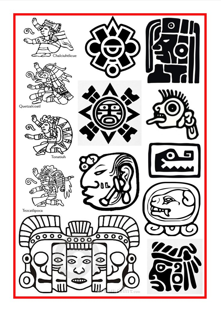 top 25 best mayan symbols ideas on pinterest aztec art