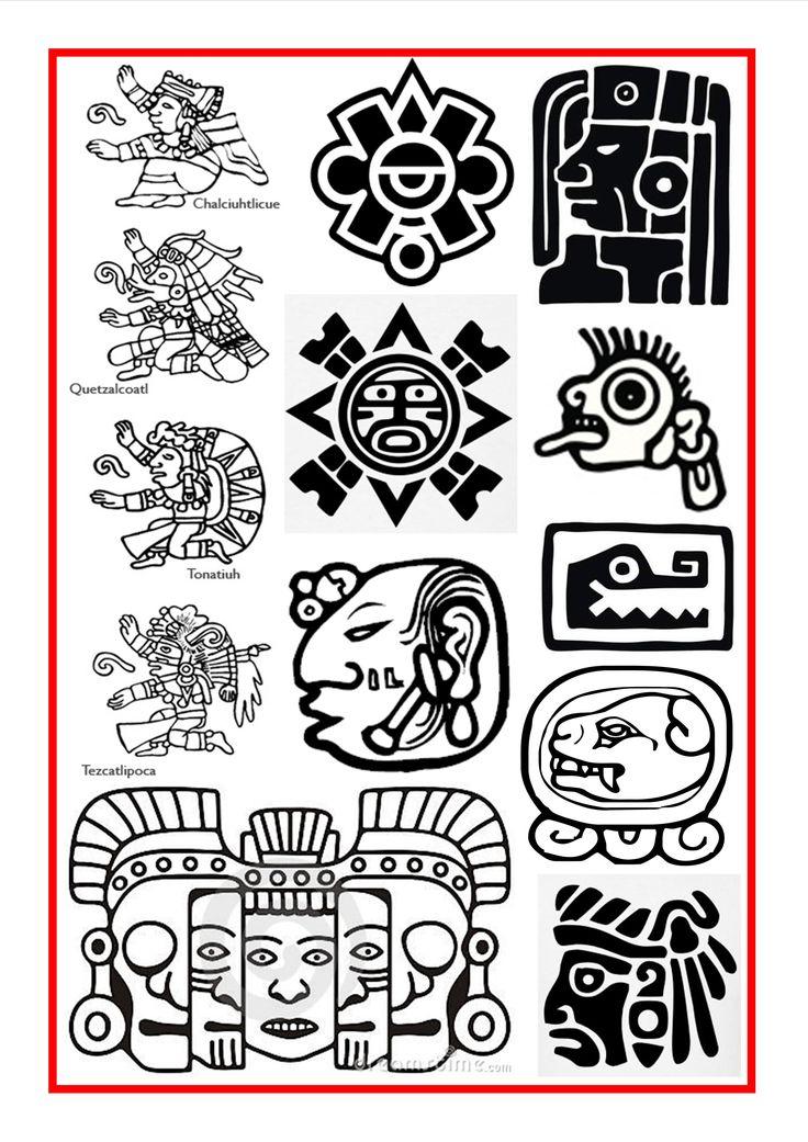 Tattoo Deuses Astecas Pesquisa Google Celtic Pinterest Mayan