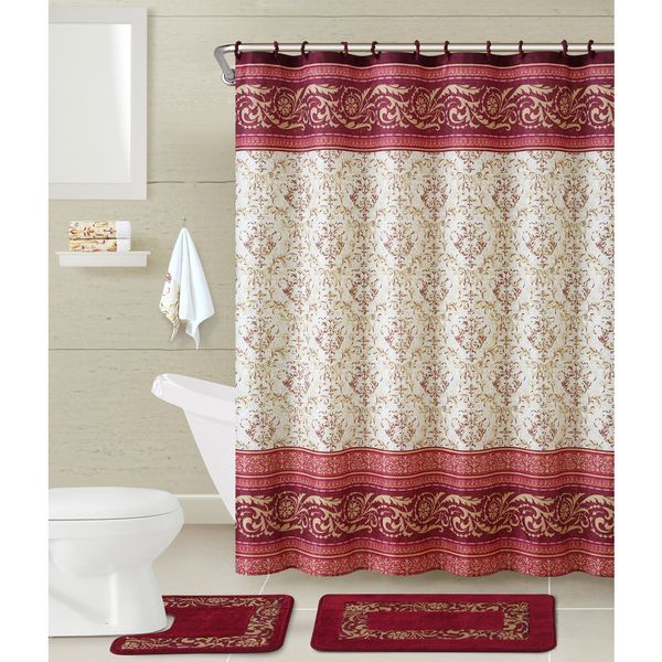 Vcny Roma 17 Piece Bath In A Bag Set Interiors Shower