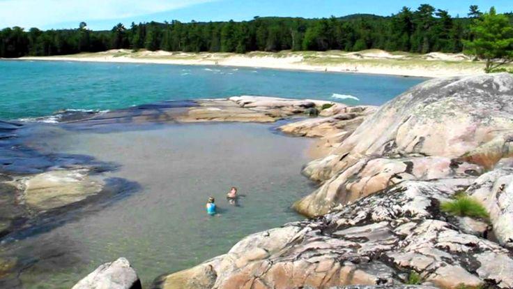 secret swimming holes in Ontario