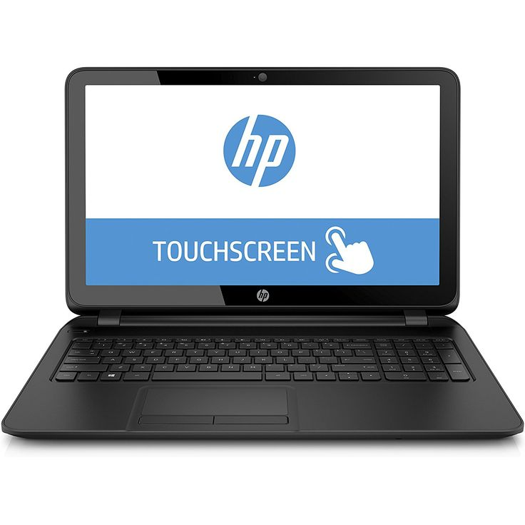 "HP 15-F222WM 15.6"" Touch Screen Laptop (Intel Quad Core Pentium N3540 Processor, 4GB Memory, 500GB Hard Drive, Windows 10)         ** Be sure to check out this awesome product. (This is an affiliate link) #ComputersAccessories"
