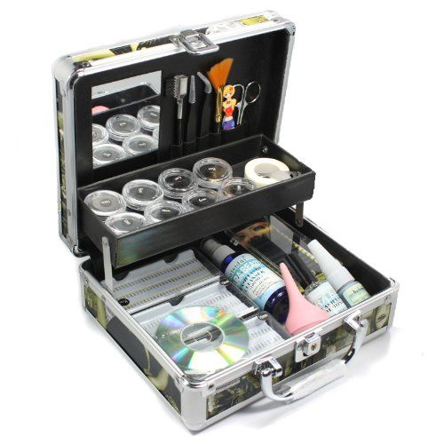 Black Friday and Cyber Monday Sales! New Professional Eyelash Extension False Eye Lash Full Kit Set with Fashion Hard Case Suitcase A150 - http://fulleyelashextensions.com/black-friday-and-cyber-monday-sales-new-professional-eyelash-extension-false-eye-lash-full-kit-set-with-fashion-hard-case-suitcase-a150/
