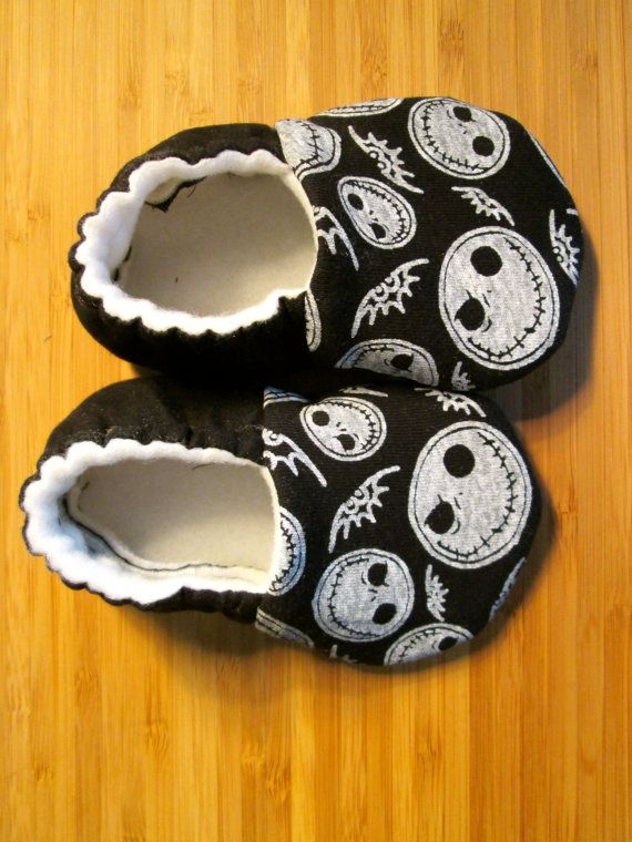 GOT THESE FOR MY SOON-TO-BE BORN GRANDSON. THEY ARE BEYOND ADORABLE!!  https://www.etsy.com/listing/211871416/the-nightmare-before-christmas-baby.