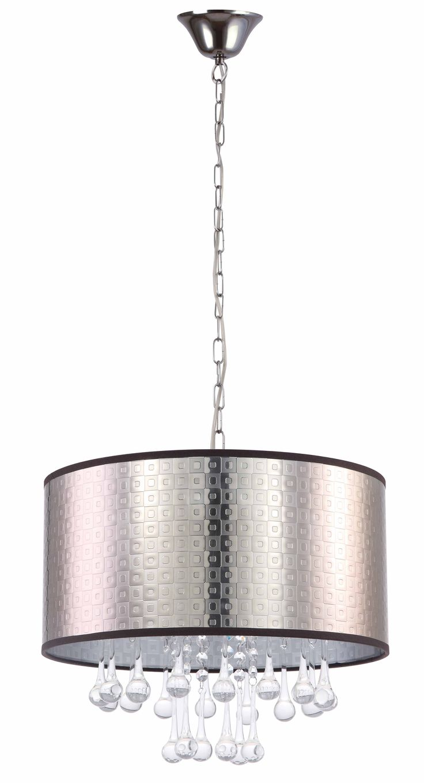 Pendant Light Round in Brown Silver or Black GEM CLA Lighting